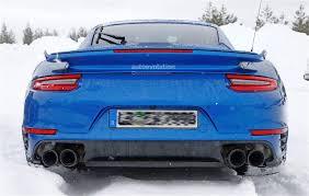 porsche 2017 4 door spied 2017 porsche 911 gt2 spied in winter testing germancarforum