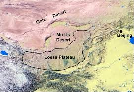 us desert map how wind sculpted the earth s largest dust deposit uanews