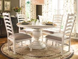 Distressed Pedestal Dining Table Distressed White Dining Table Dining Room Sustainablepals
