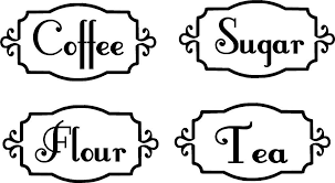 labels for kitchen canisters buy labels kitchen canisters and get free shipping on aliexpress