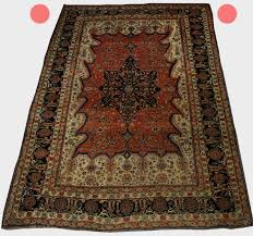 4 basic photos needed to determine authentic rugs and