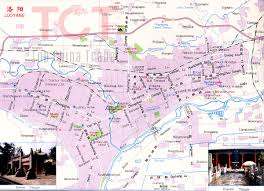 Maps Of China by Luoyang Maps Map Of Luoyang China Luoyang Tourist Maps Luoyang