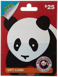 amazon com panda express gift card 25 gift cards