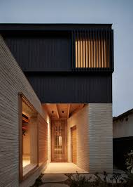 brick house andrew burges architects archdaily
