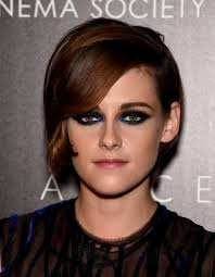 navy dress makeup to go with hot or hmm kristen stewart new york screening blue