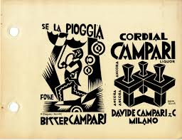 campari art fortunato depero campari futurism pinterest futurism