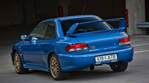 subaru impreza modified blue 1998 subaru impreza 22b sti wallpapers u0026 hd images wsupercars