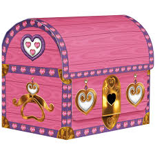 pink treasure chest boxes 4 party kit n kaboodle theme party shop