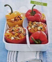 cuisiner poivron poivrons farcis à la grecque cuisiner legumes