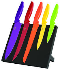 Coloured Kitchen Knives Set 5pc Kitchen Knife Set Taylor U0027s Eye Witness Cookworld
