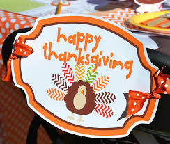 crafty chevron thanksgiving table ideas