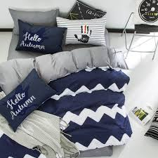 Nate Berkus Duvet Cover Gray And White Striped Comforter Wayfair Basics 7 Piece Striped