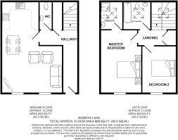 meters squared 2 bedroom terraced house for sale in basbow lane bishop u0027s