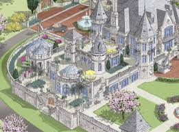 showcase luxurous modern european castle style home