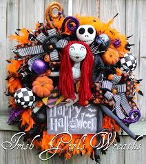Sally Jack Halloween Costumes Halloween Wreath Jack Skellington Nightmare Christmas