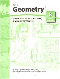key to geometry book 8 triangles parallel lines similar