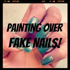 painting over fake nails funwithnayala youtube