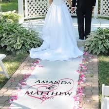 aisle runners printed aisle runners the wedding warehouse