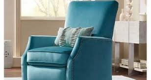 pisa push back recliner omnia leather teal recliner chair carols