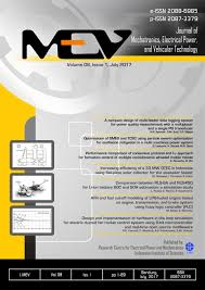 journal of management style guide journal of mechatronics electrical power and vehicular technology