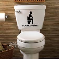 popular downloading bathroom sticker buy cheap downloading downloading toilet sticker bathroom downloading decal diy easy wall art removable washroom decor cut vinyl sticker
