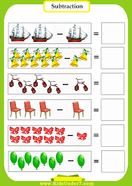 Number Line Subtraction Worksheets Ice Cream Subtraction Worksheet Ice Cream Pictures Subtraction