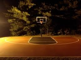 Basketball Courts With Lights Pictures Of Outdoor Basketball Courts With Lighting