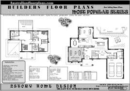 two story house floor plans construction plans story storey floor plan house building