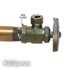 how to replace a shutoff valve family handyman