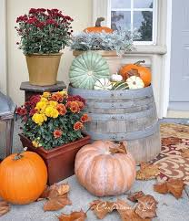 fall outdoor decorations fall outdoor decorating ideas for porch sloping front yard