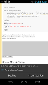 Longitude Position In A Time by Html5 For The Mobile Web A Guide To The Geolocation Api Mobiforge