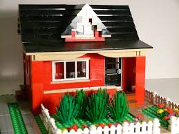 red bungalow with dormer flickr