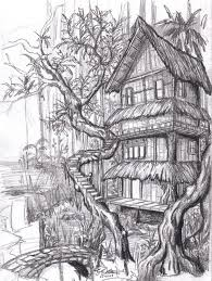 how to draw beautiful drawing 10 beautiful house pencil drawings for inspiration hative