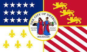 State Flags Of Usa Flag Of Detroit Wikipedia