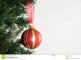 tree and hanging decoration stock photo image
