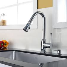 3 kitchen faucets stainless steel kitchen sink combination kraususa com