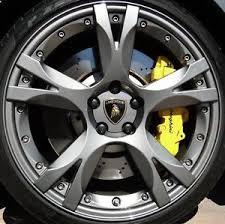 lamborghini gallardo wheels 19 lamborghini gallardo callisto wheels rims caps lp560 gray