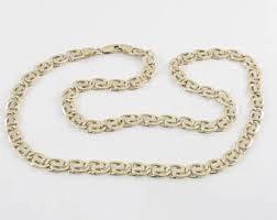 14k Solid White Gold 1 5 Mm Round Cable Chain Necklace 16 Quot Mens Gold Chain