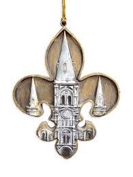 st louis cathedral fleur de lis ornament fleurty