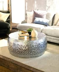 silver drum coffee table drum coffee table drum coffee tables drum coffee table for sale