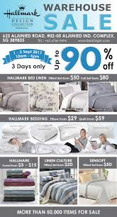 1 3 sept 2017 hallmark bedlinen warehouse sale at aljunied road