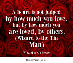 quotes about a is not judged by how much you but