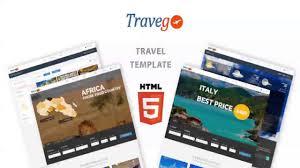 Travel Theme Travego Travel Theme Responsive Themeforest Website Templates
