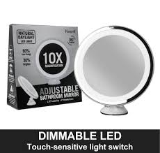 32 off daylight led 10x magnifying makeup mirror lighted
