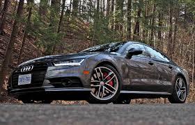 audi ca car review 2017 audi s7 driving