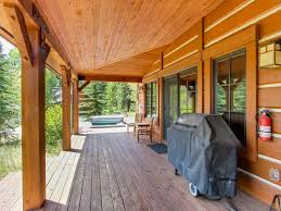 Wrap Around Deck by Gorgeous Chalet W Private Tub U0026 Wrap Around Deck Walk To The