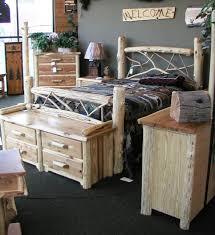 Cedar Log Bedroom Furniture by 16 Best Montana Custom Log Furniture Images On Pinterest Montana