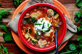 vegetable lasagna soup recipe