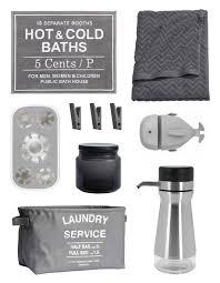 bathroom accessories grey interior design