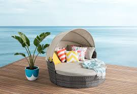 Outdoor Canopy Daybed Salt Outdoor Canopy Daybed Amart Furniture